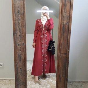 Kimono abruzzo rood