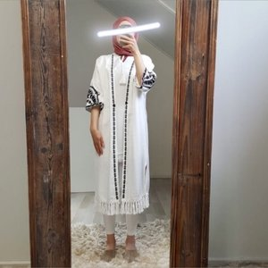 kimono falerna wit