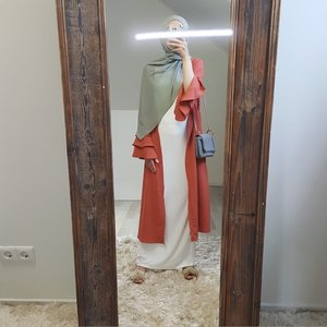 kimono sottomarina oranje