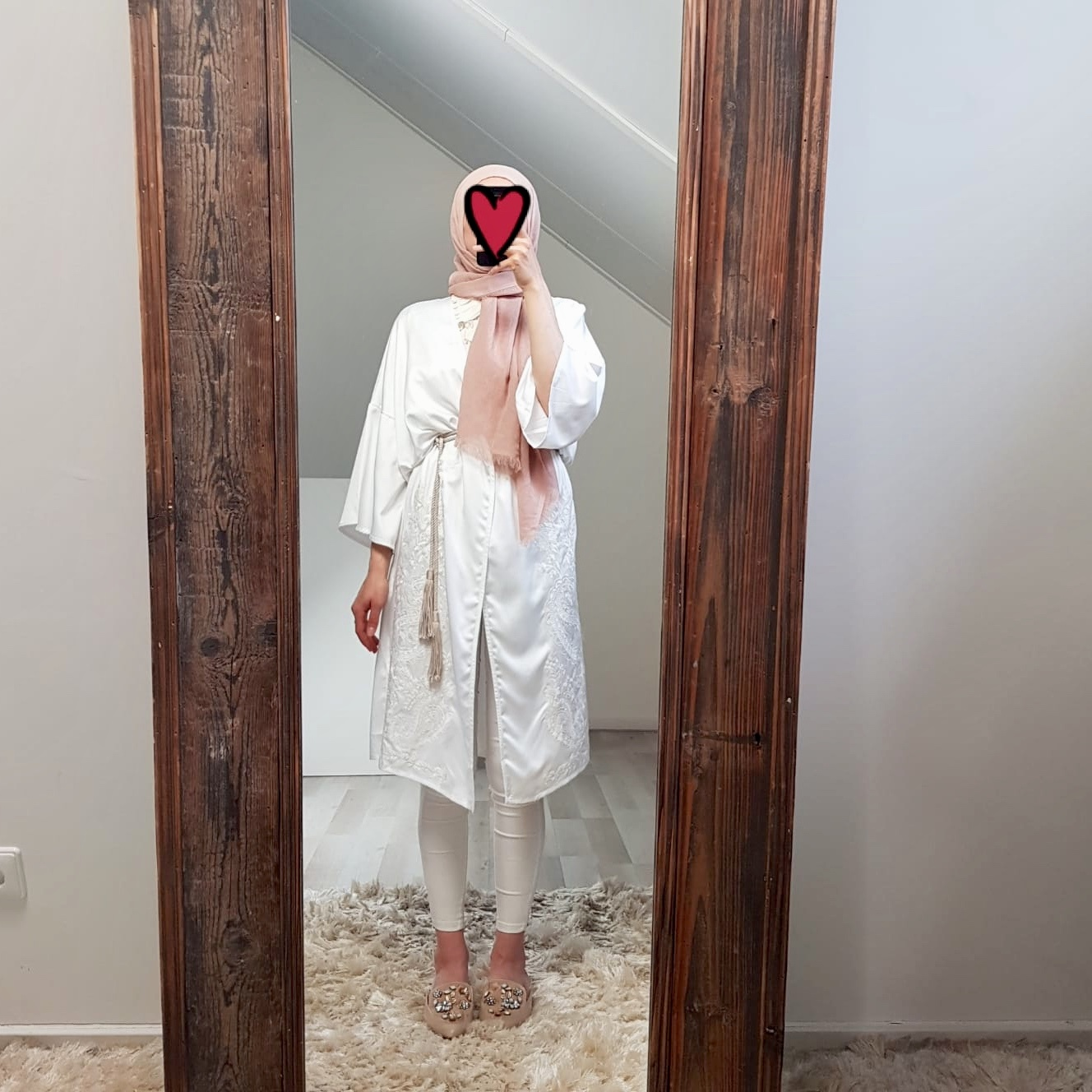 Kimono belvedere white