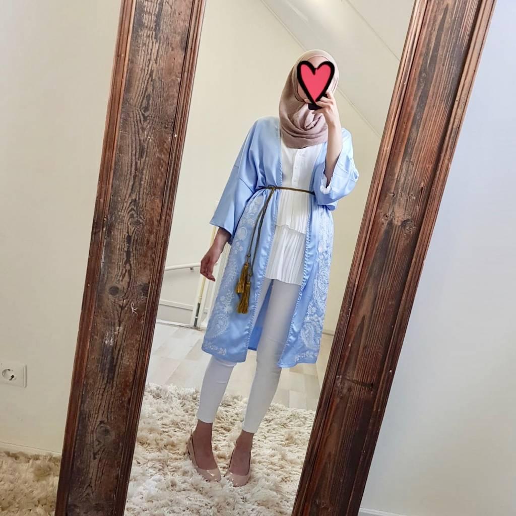 kimono belvedere  blue