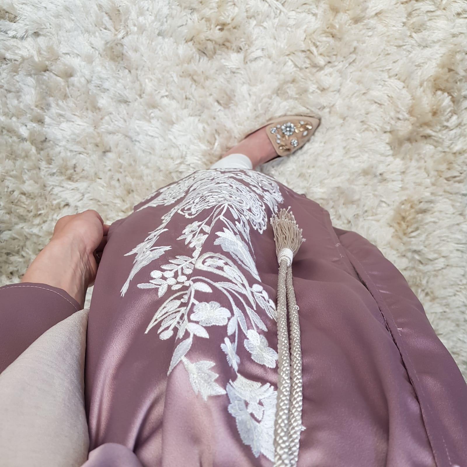 Kimono belvedere lila-ish