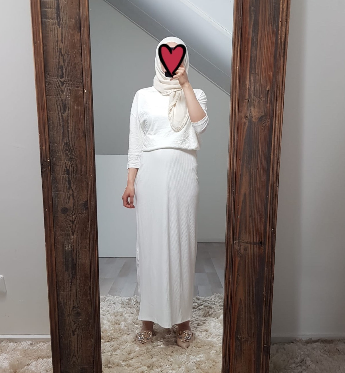 stretch rok noto white