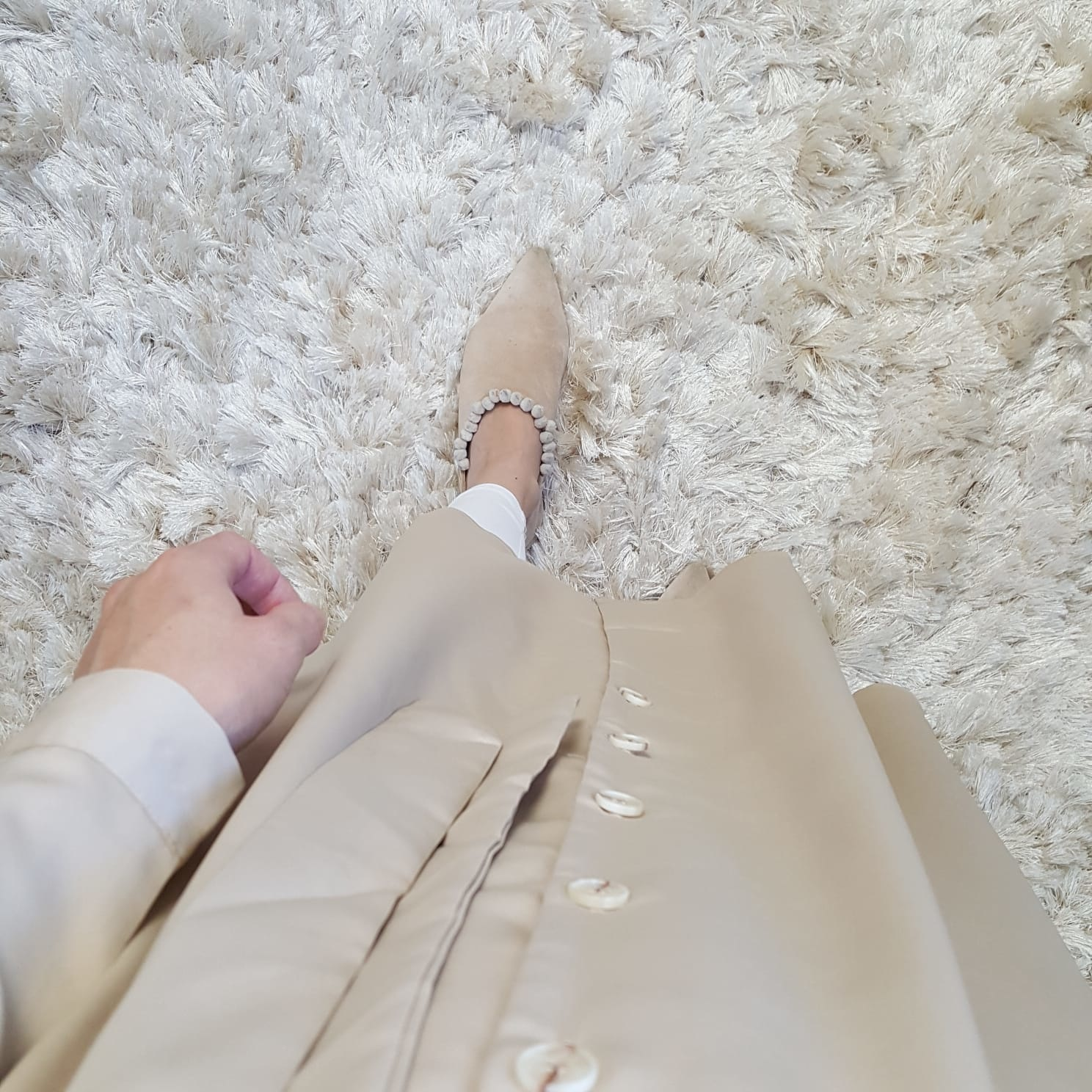 Dress cavalino beige
