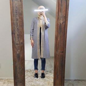 kimono (suede look) atrani blue