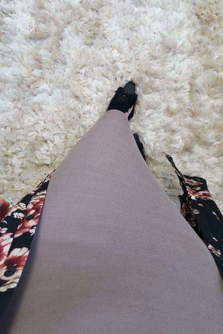 Stretch rok ascea bruin
