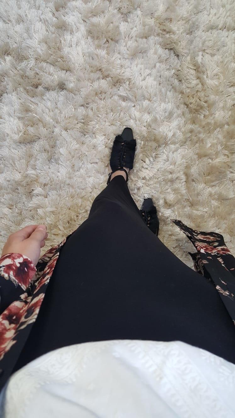 Stretch rok ascea zwart