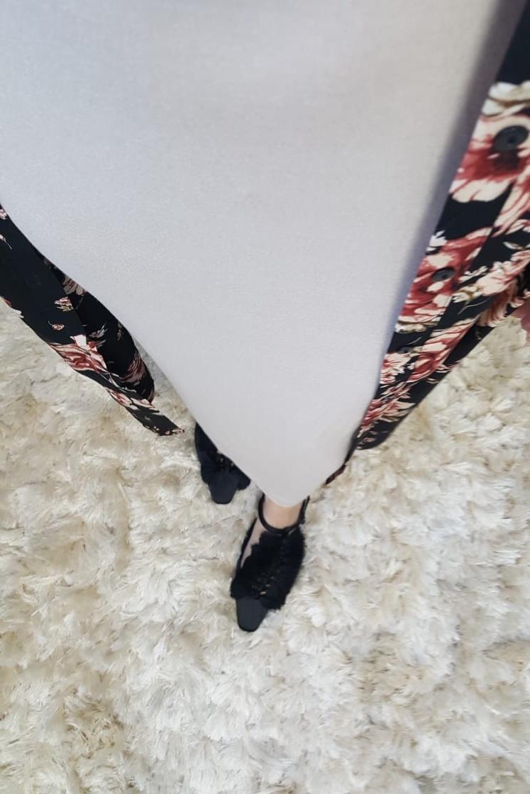 Stretch skirt  ascea beige