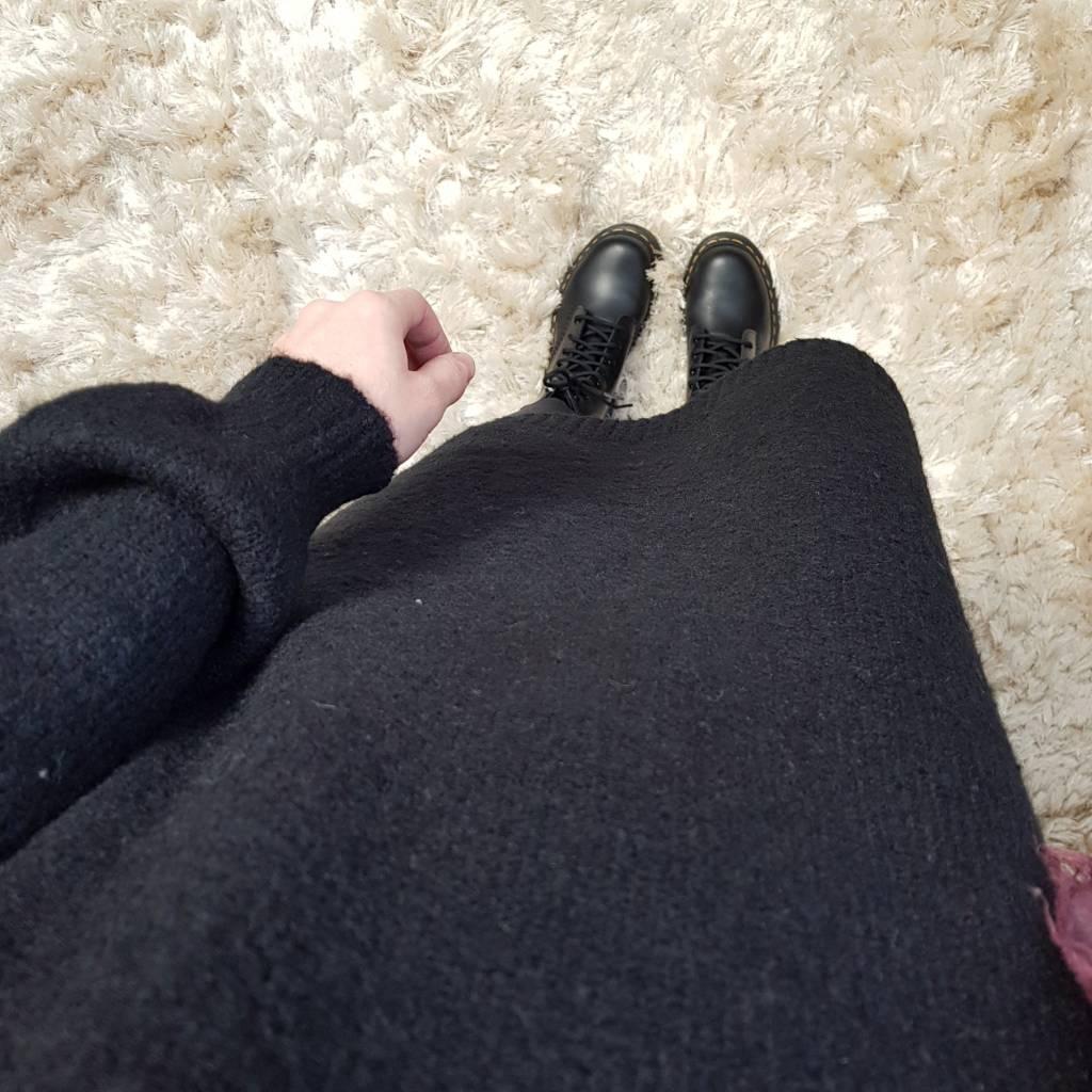 Sweater mondragone zwart