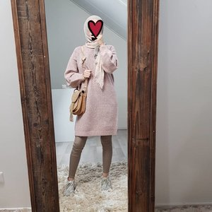 Sweater mondragone roze