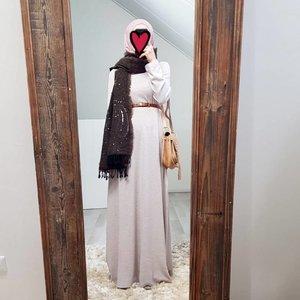 abaya sweater Lonio creme
