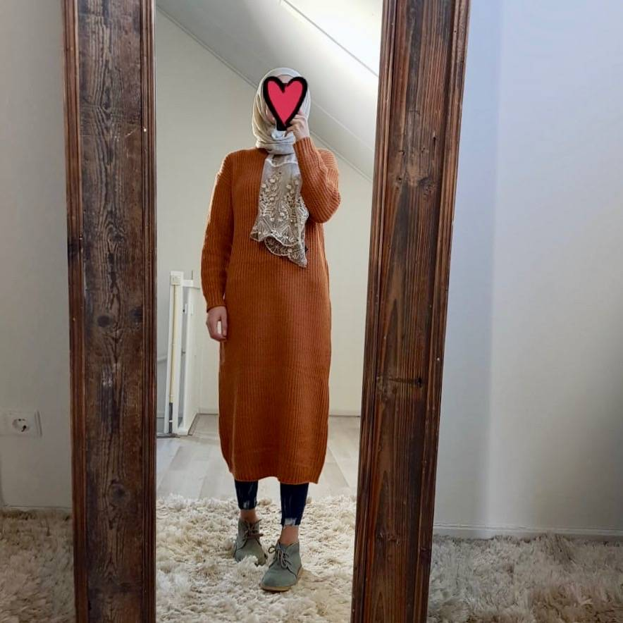 sweater rosetto brown
