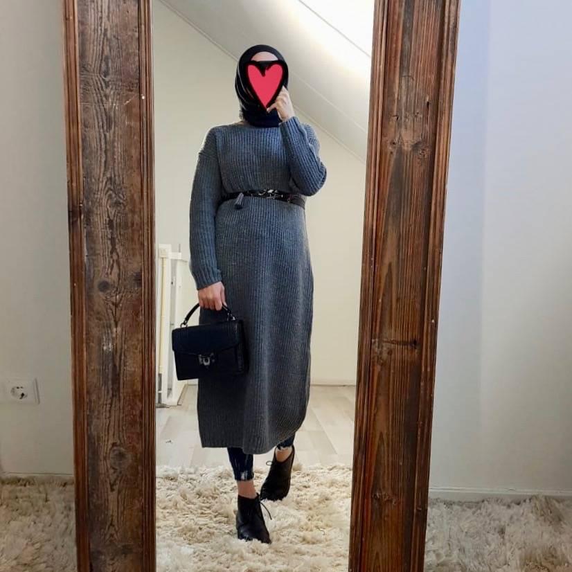 sweater rosetto grey
