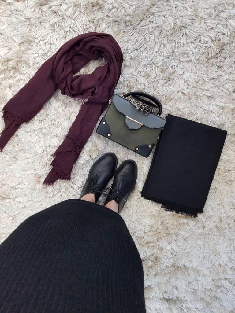 sweater rosetto black