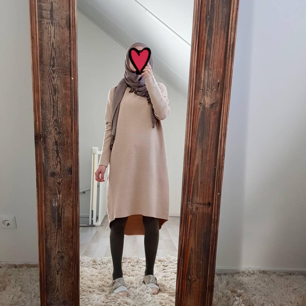 Oversized trui cipressa beige - Copy