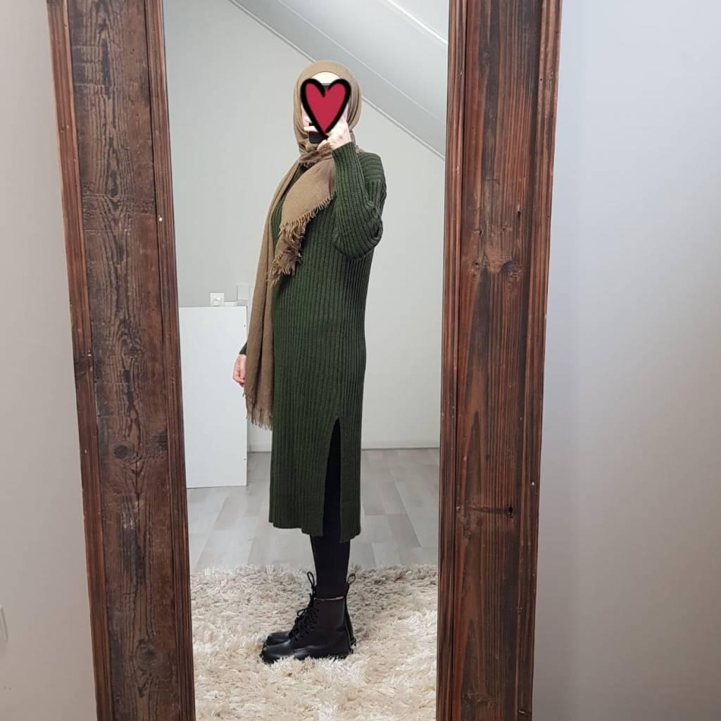 Sweater belaria groen