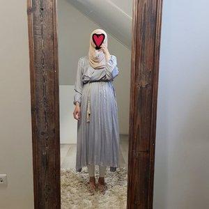 dress salerno grey