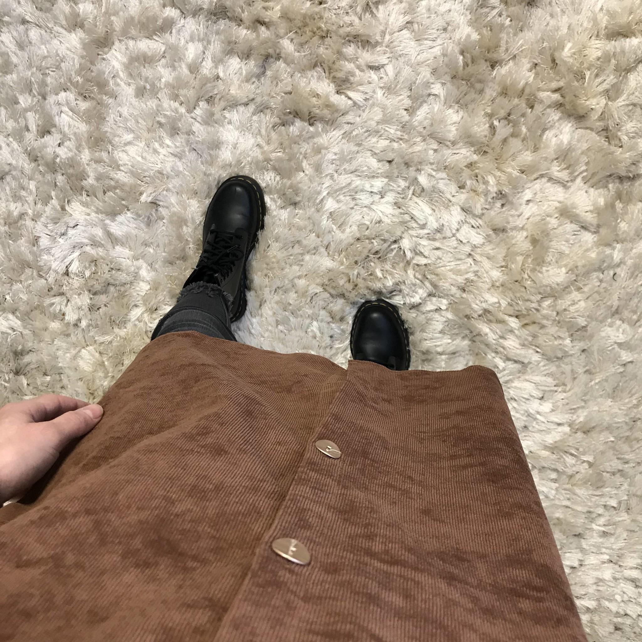 Curduroy shirt antelao brown