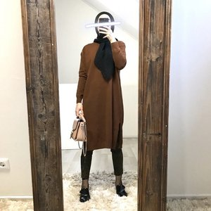 Soft sweater velino brown