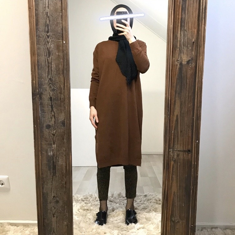 Soft sweater velino bruin