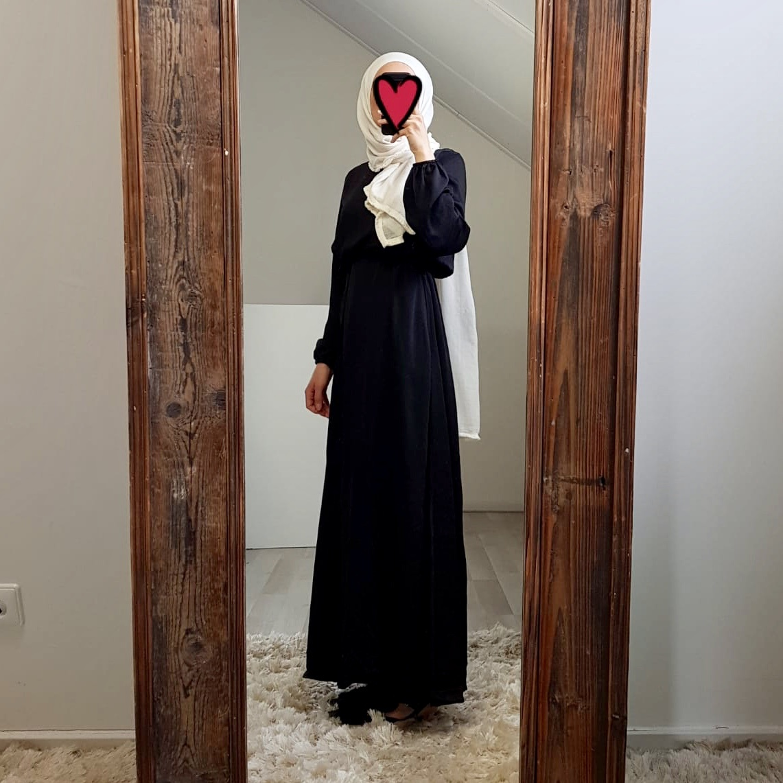 Maxi jurk (satin) scarlino  black