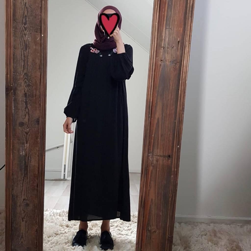 Jurk tauro zwart