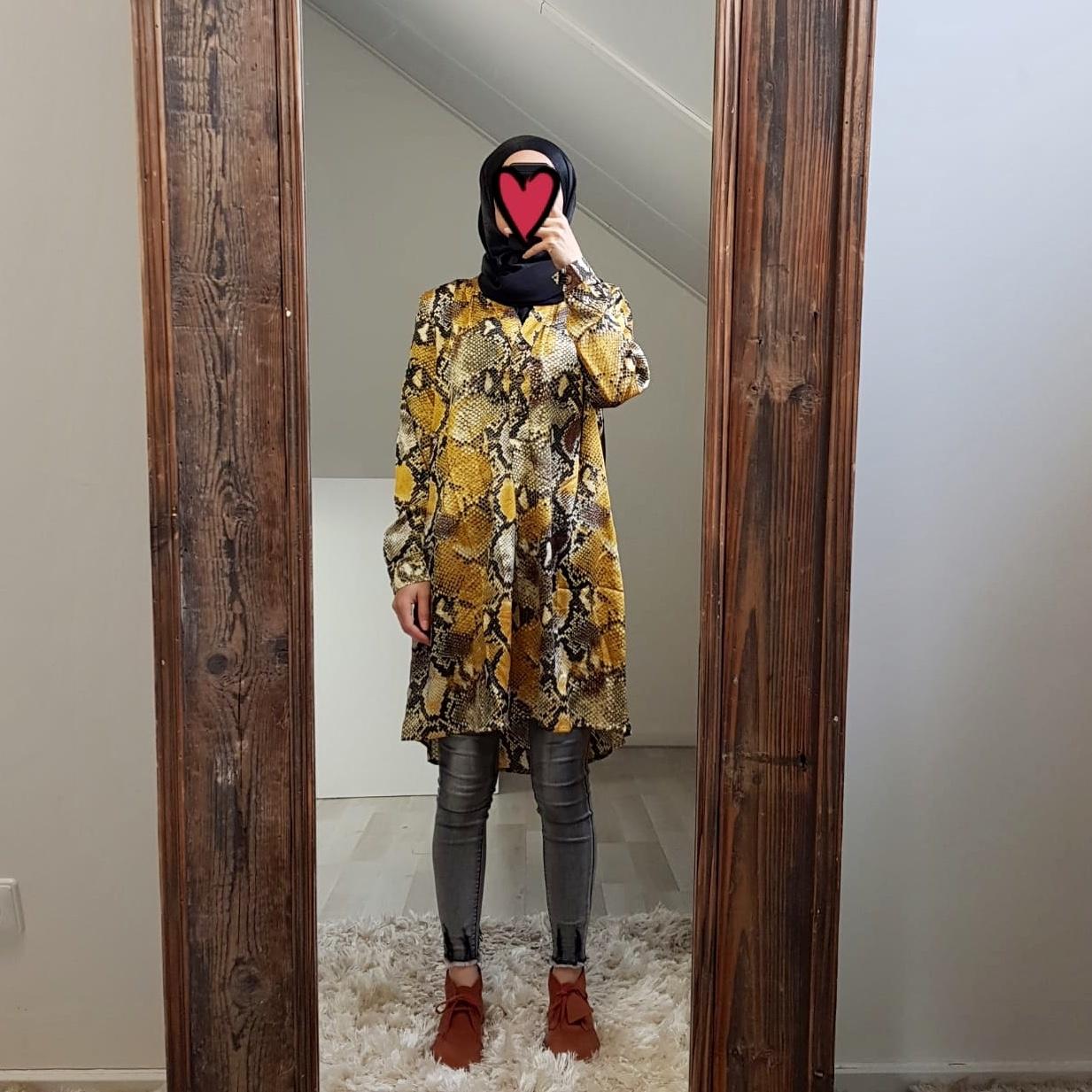 blouse giglio yellow