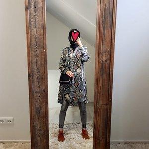 blouse giglio grijs
