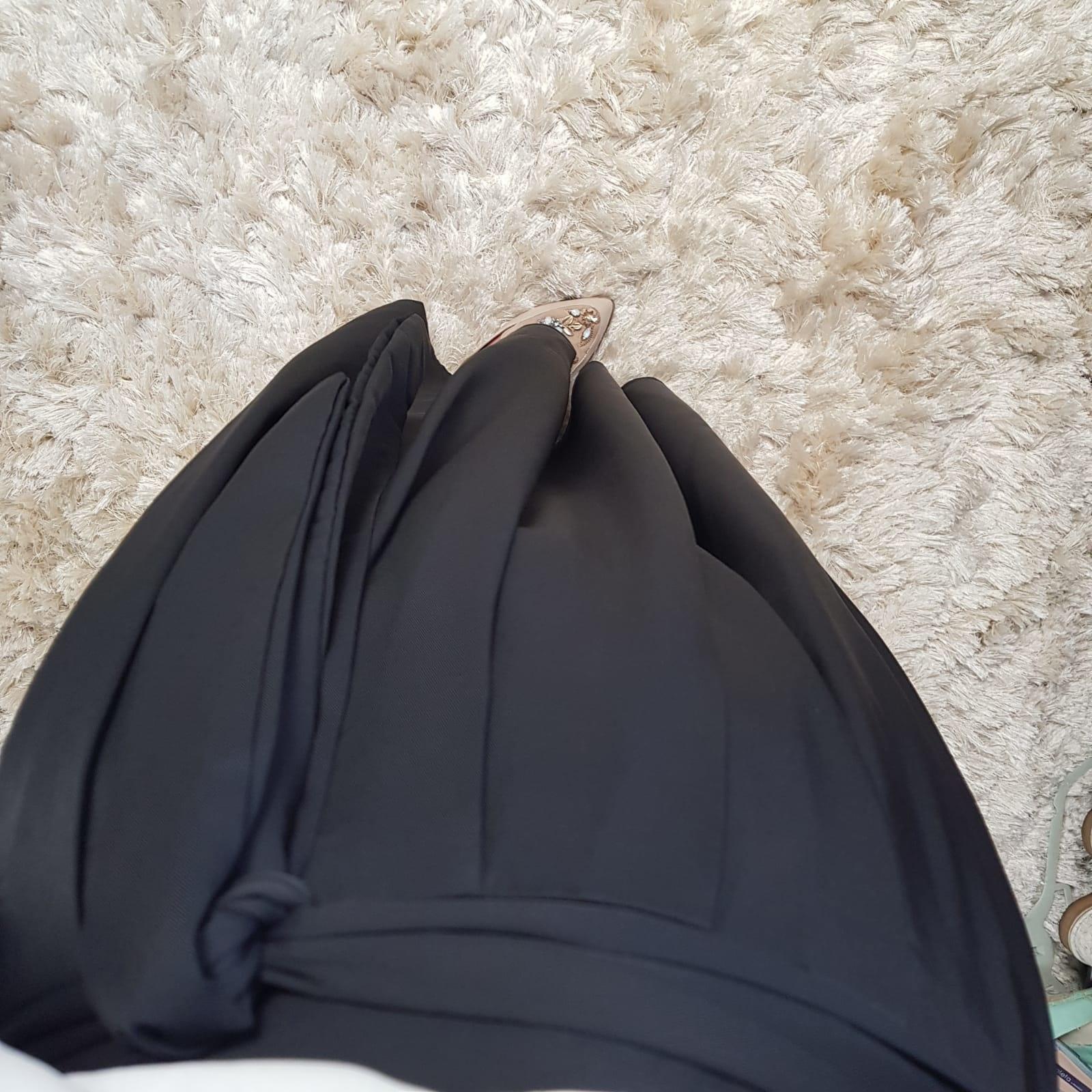 skirt ercalano black