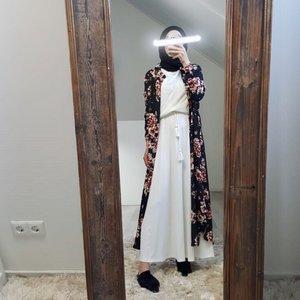 Maxi skirt cellole white