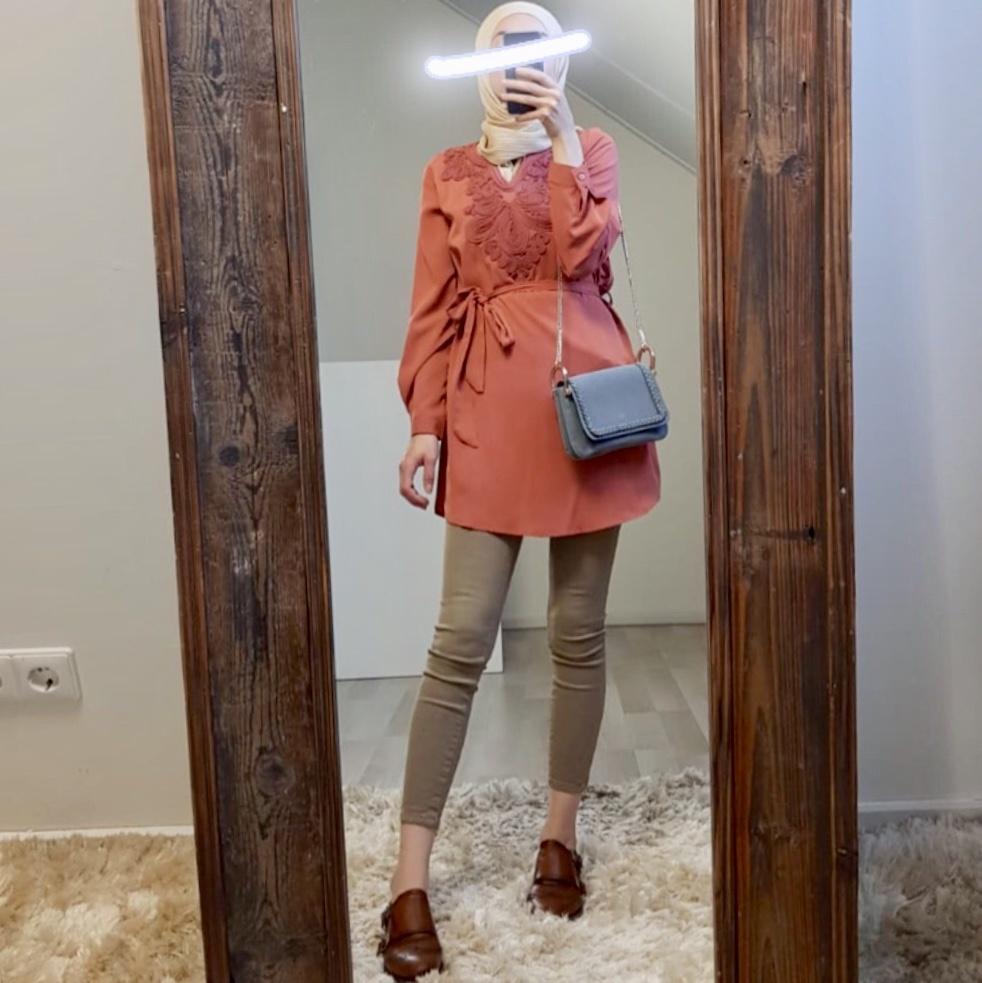 Tuniek madeira oranje