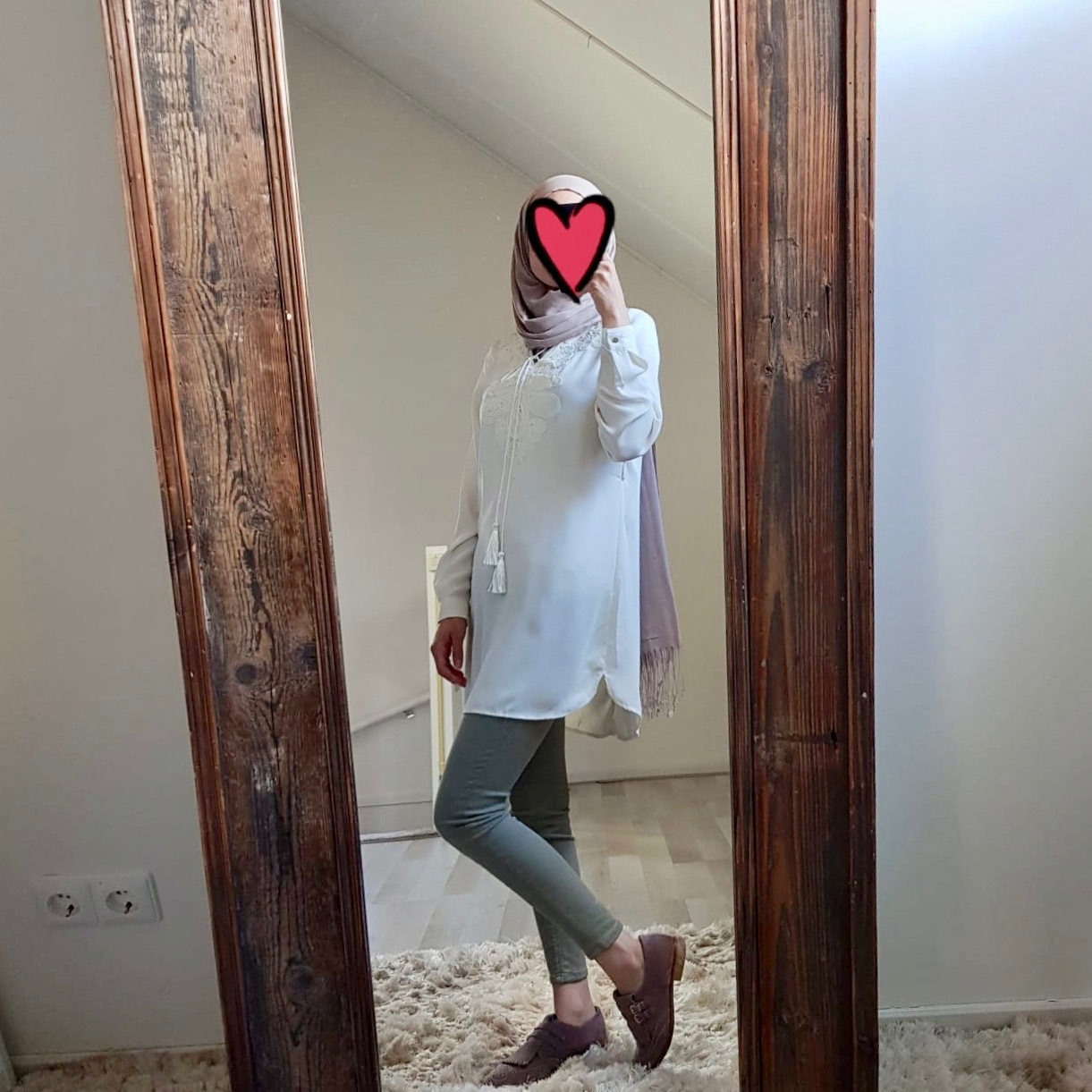 Tuniek madeira wit