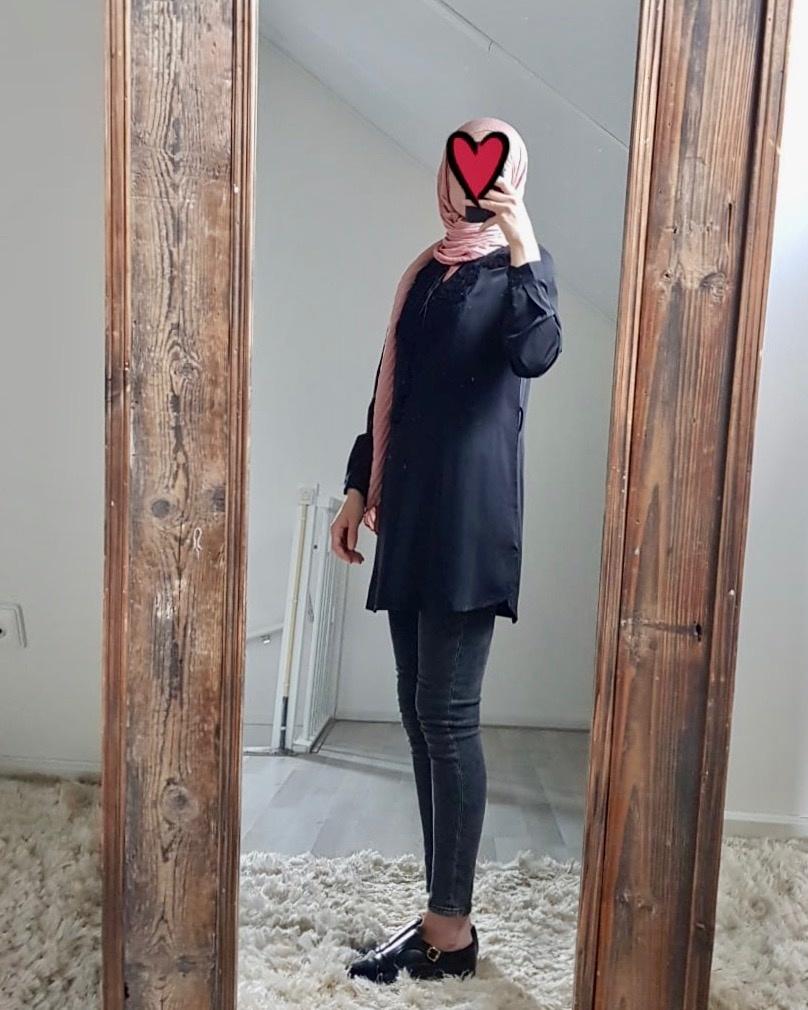 Tuniek madeira zwart