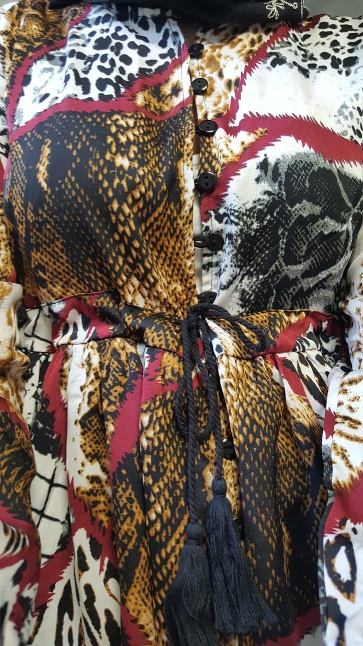 Kimo-jurkje citara rood