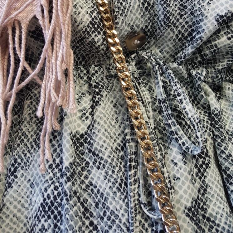 Tuniek equinse slangen print