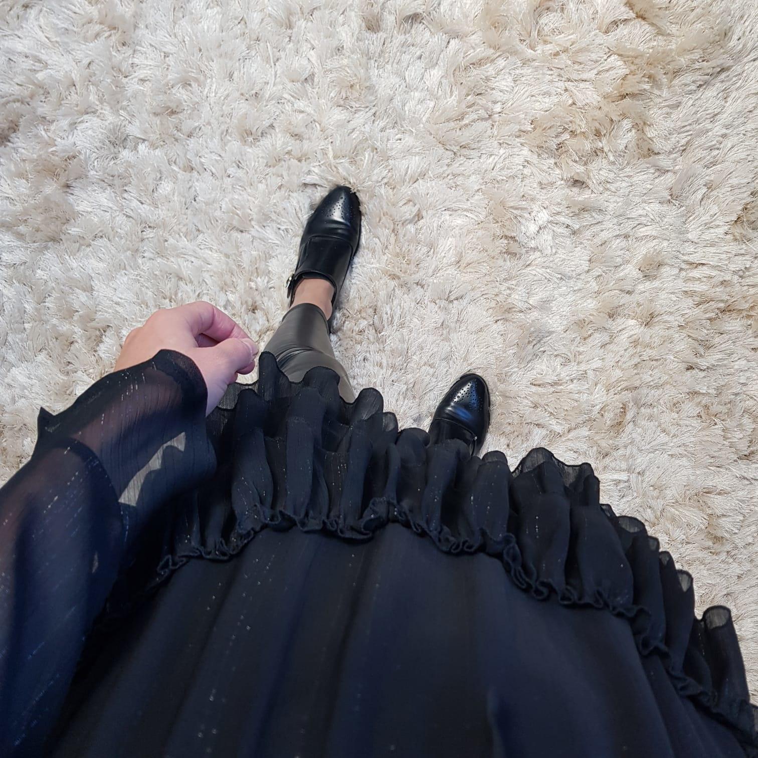 Tuniek taggia zwart