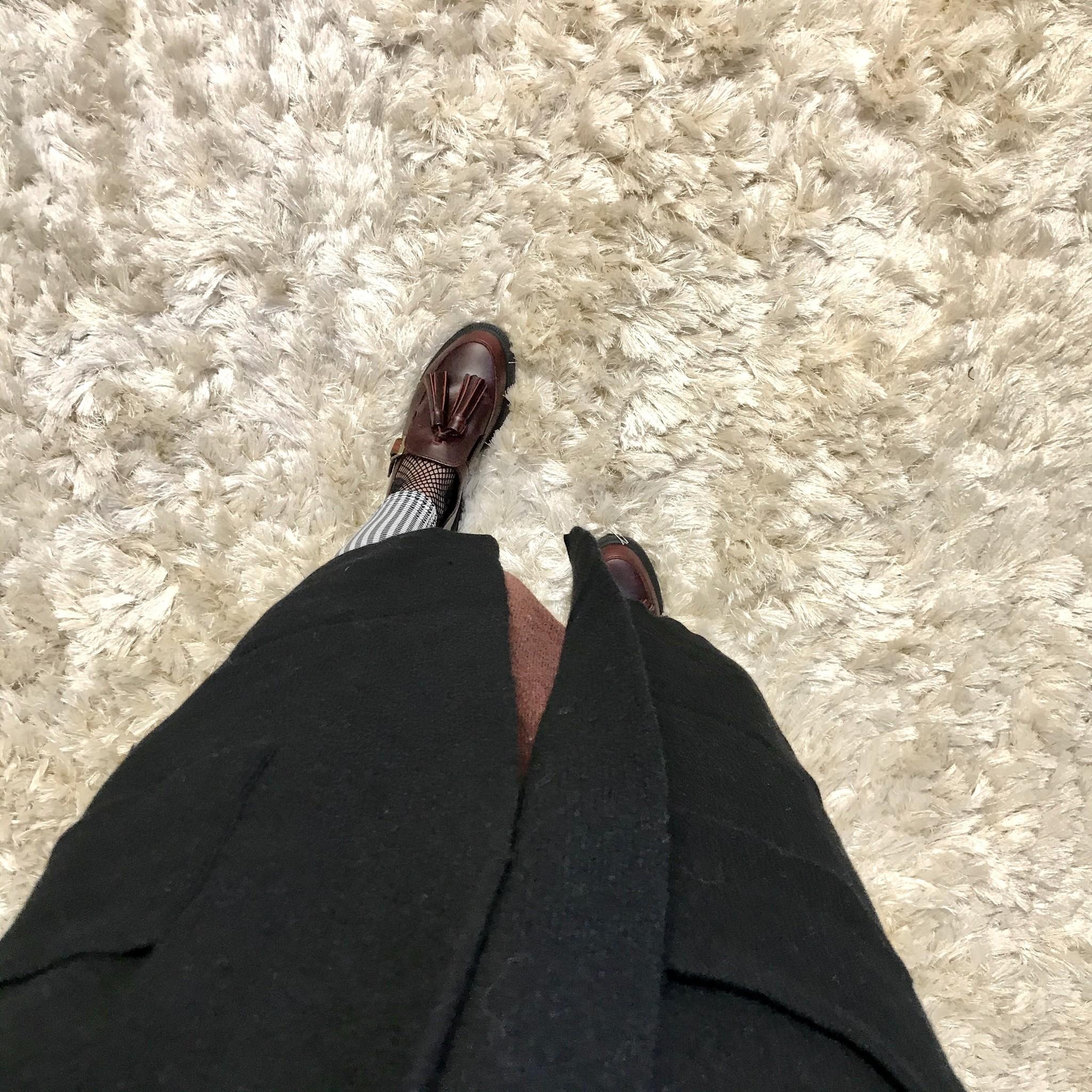 Heavy cardigan miletto black