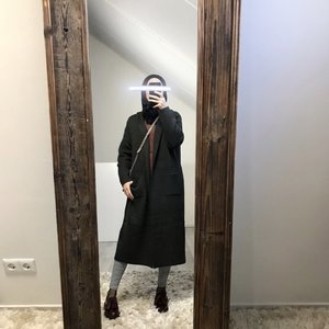 Heavy cardigan miletto d-grey