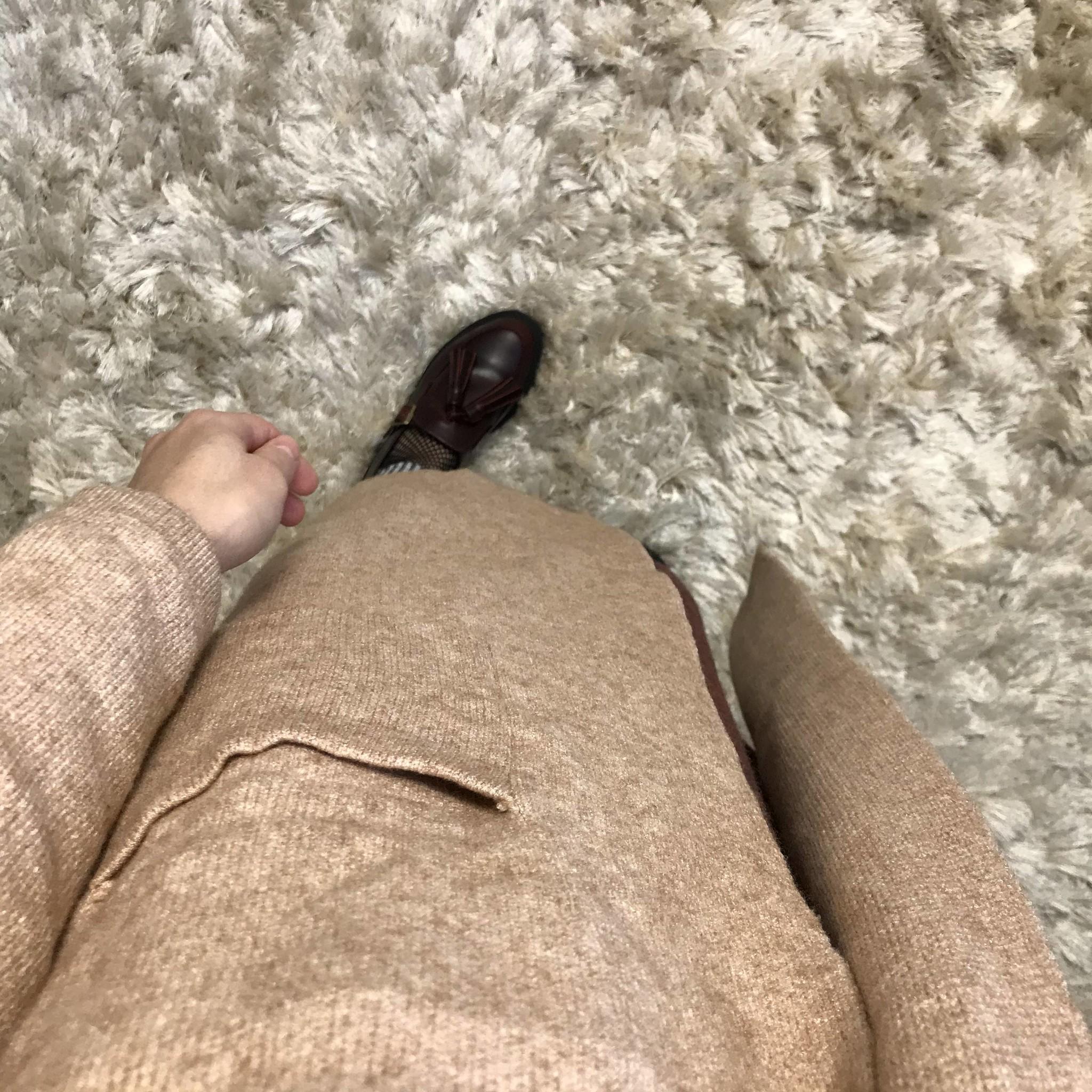 Zware capuchon vest miletto beige