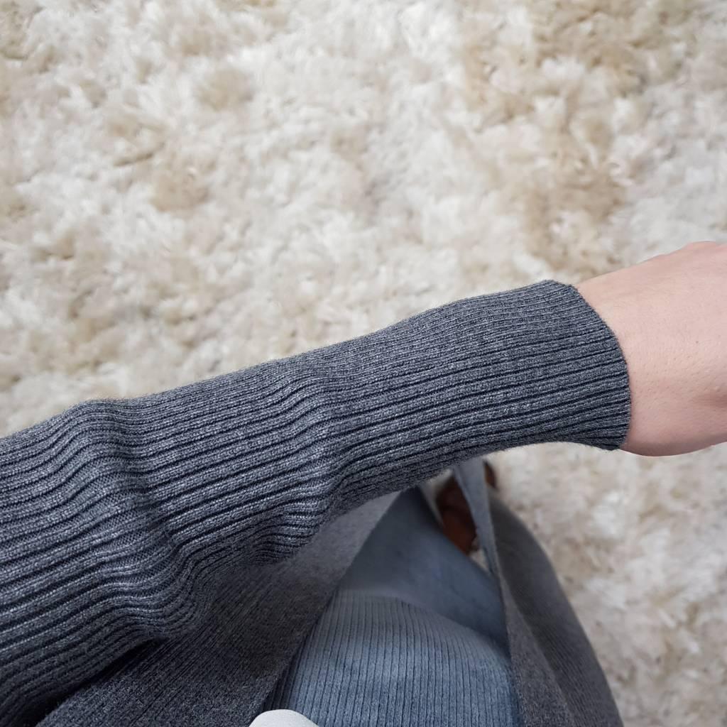 cardigan agropoli grey
