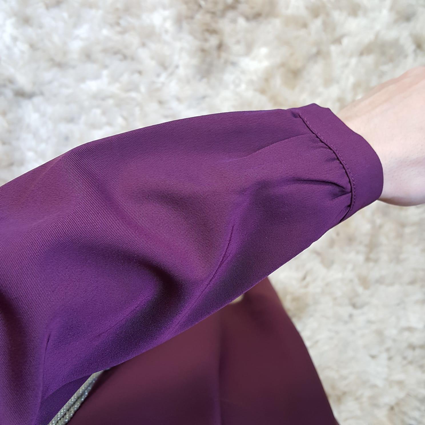 Abaya albarella paars