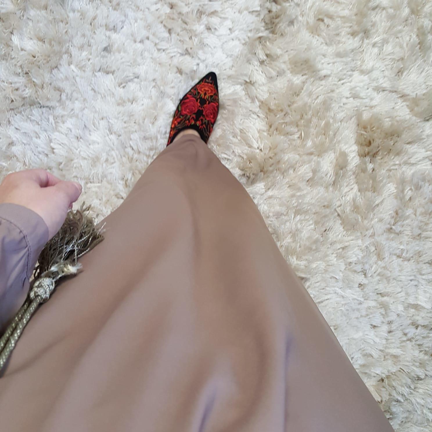 Abaya albarella khaki