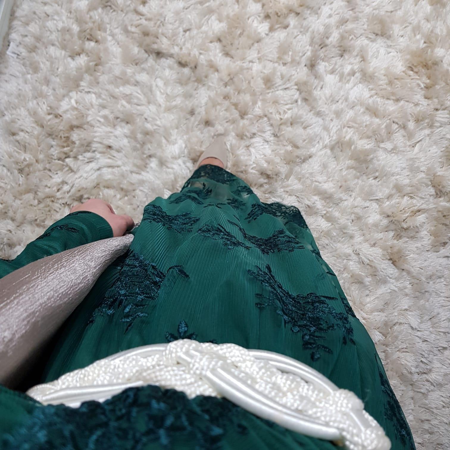 Gelegenheids jurk Furore  green
