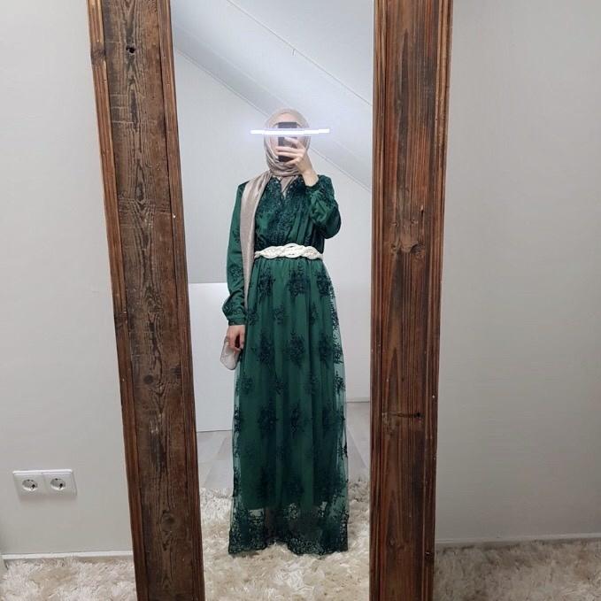 Gelegenheids jurk Furore groen