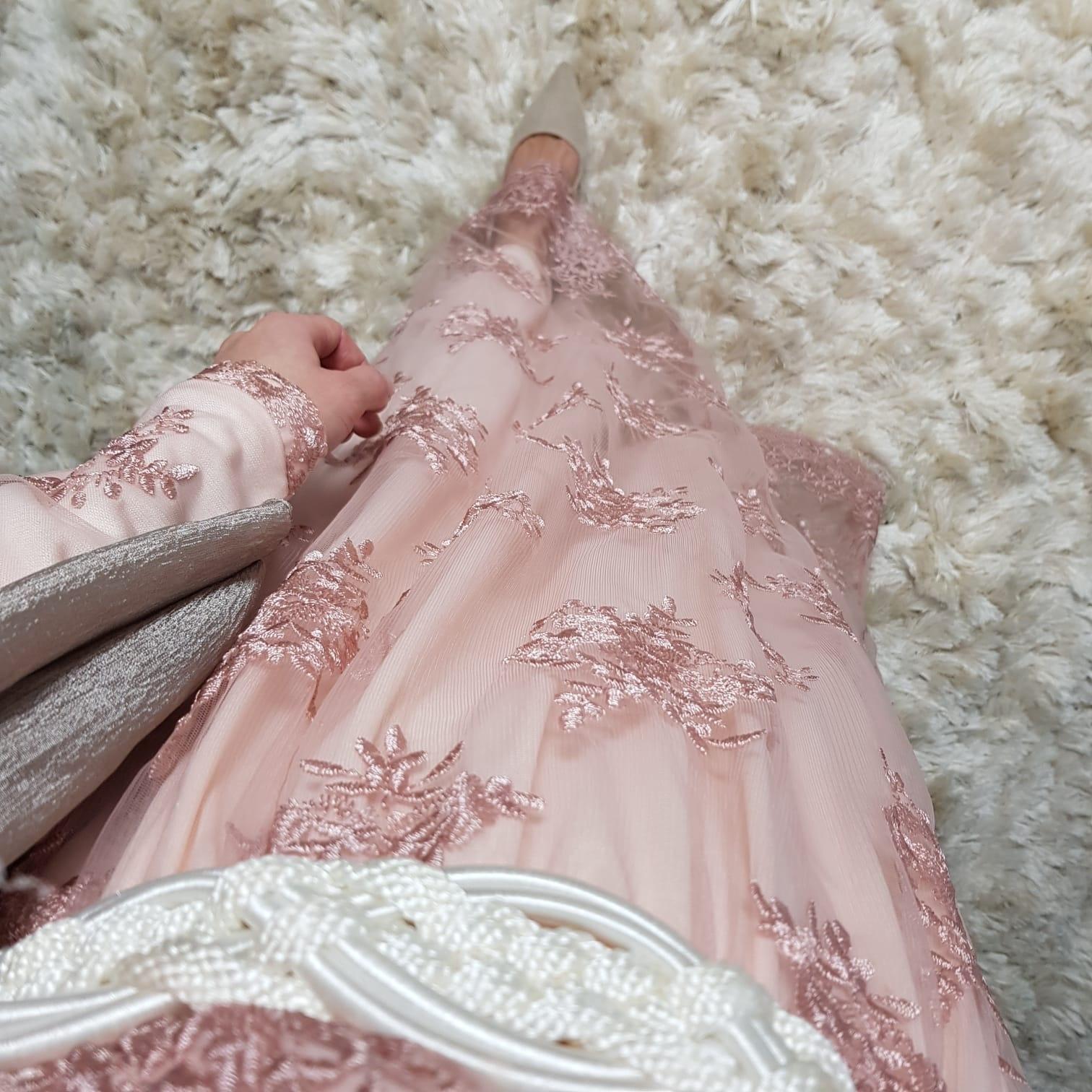 Gelegenheids jurk Furore roze