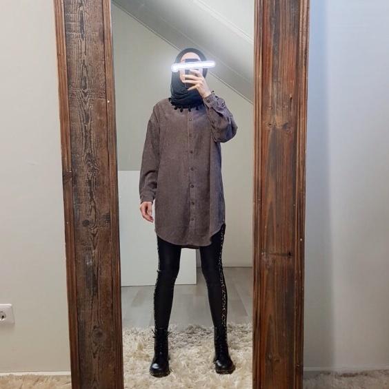 Ribbel blouse rapallo d-bruin