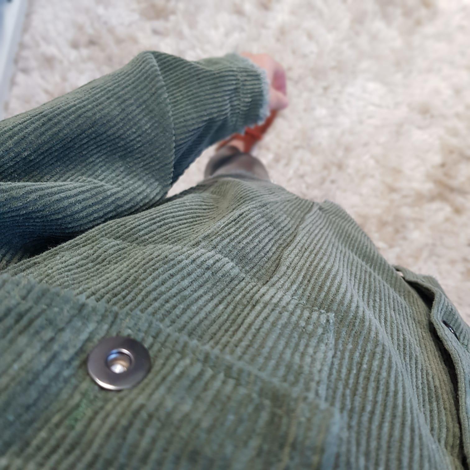 Curduroy Jacket riomaggiore green