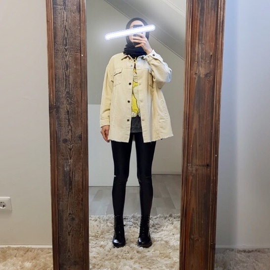 Curduroy Jacket riomaggiore beige