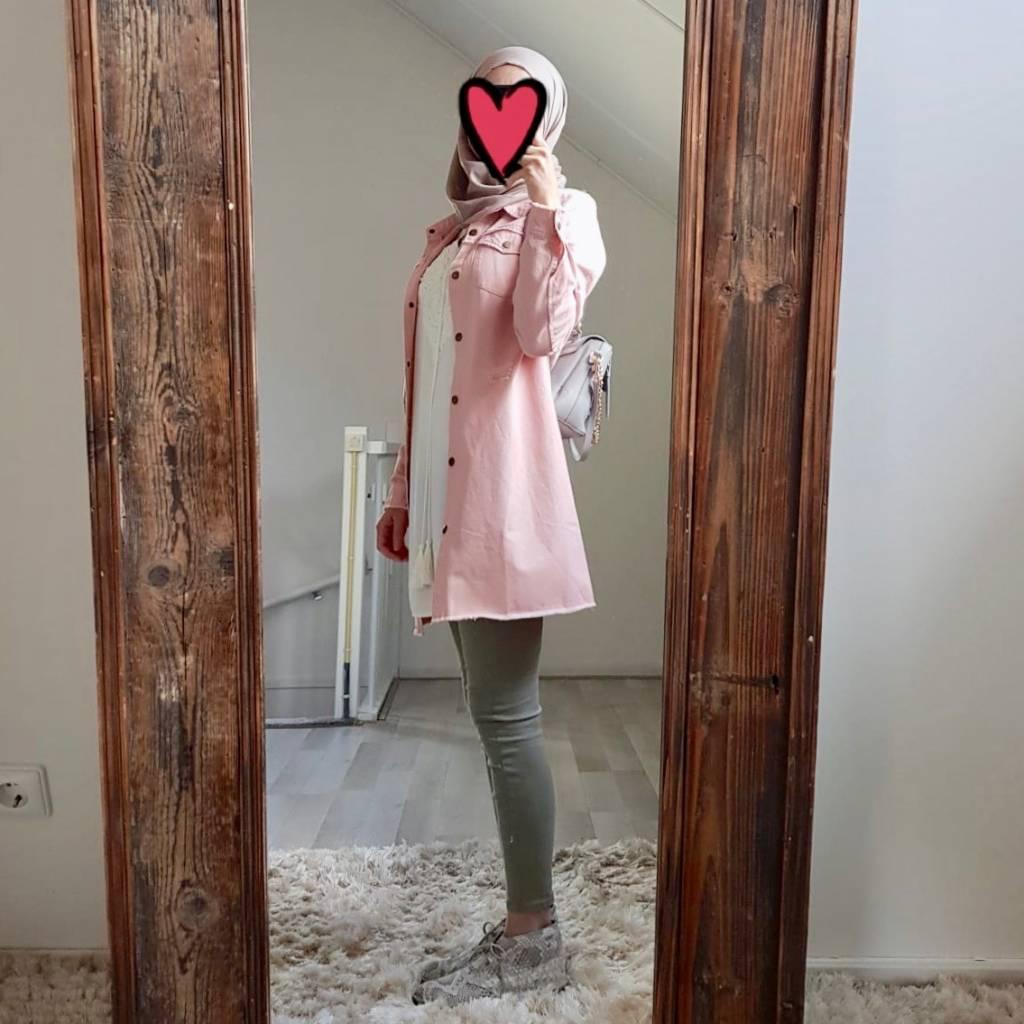 jacket reggio pink
