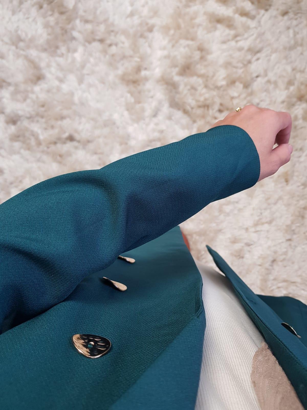 Blazer midi albisola groen